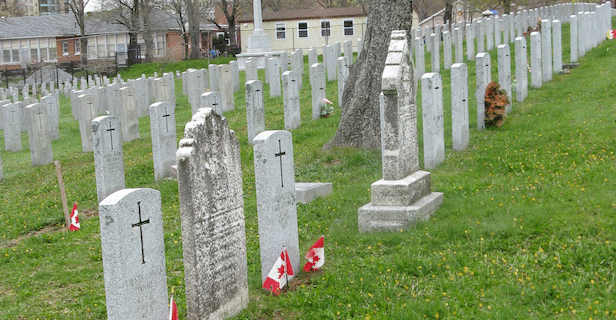 Fort Massey Cemetery is the oldest military cemetery in the city of Halifax and contains the graves of many soldiers since its opening in 1843.