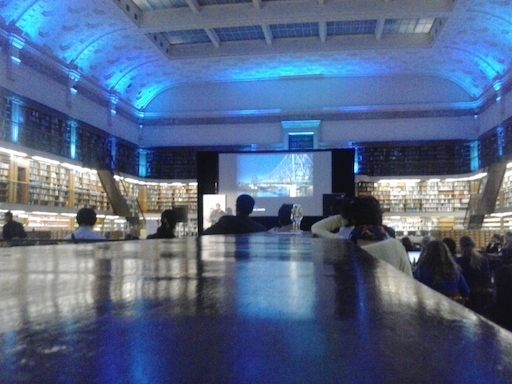 Opening reception of DH2015 at the State Library of New South Wales
